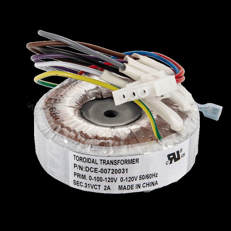 UL认证120V to 31V 72VA环形变压器